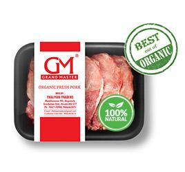 Organic fresh pork