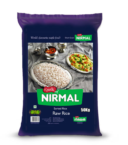 nirmal raw rice